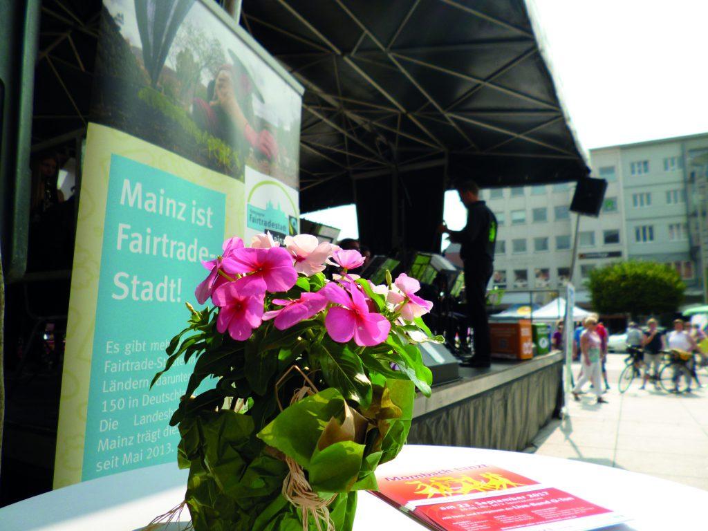 Mainz ist Fairtrade Stadt