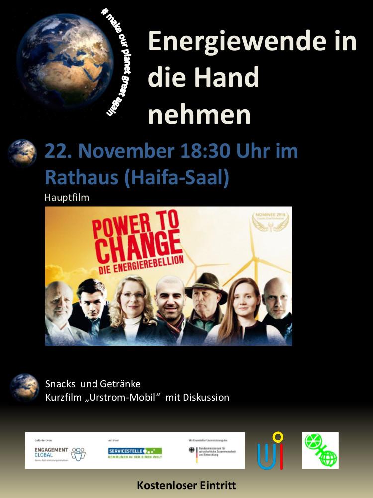 Film Power to change - Die EnergieRebellion