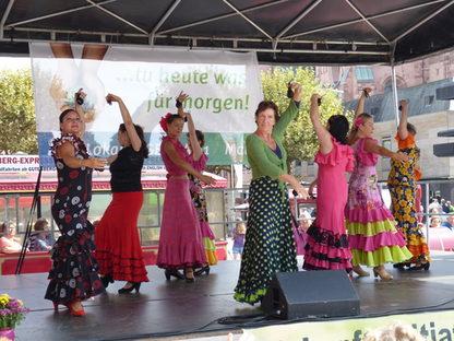 Flamenco auf dem Sonnenmarkt 2016